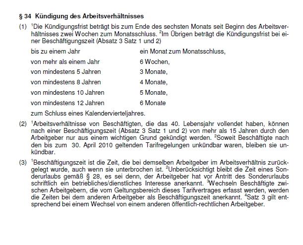 Personalratkündigungsfristen Personalrat Der Tu Darmstadt